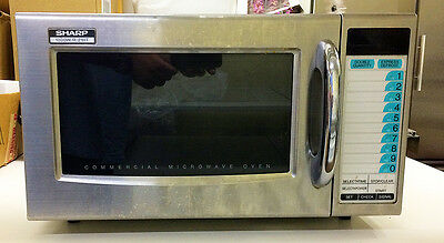 Sharp R-21HT Commercial Microwave Oven 1000 Watts