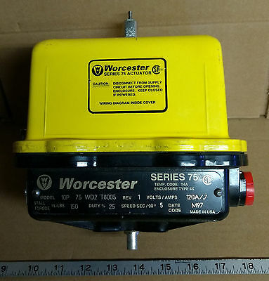 1 New Worcester 10P 75Wd2T8005 Series 75 Actuator ***make Offer***