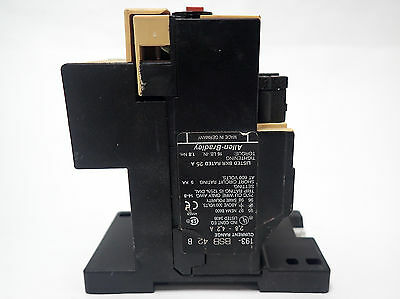 Allen Bradley 193-Bsb 42 Overload Relay With 193-Bpm1 Series C Mounting Adapter