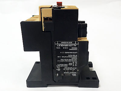 Allen Bradley 193-Bsb 16 Overload Relay With 193-Bpm1 Series C Mounting Adapter