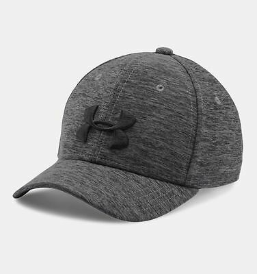Under Armour Boys UA Twist Tech Closer Stretch Fit Cap Hat Heathered