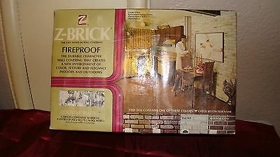 Vintage Grey Z-Brick 30 Pieces/Box, fireproof  covering about 6 Sq Ft