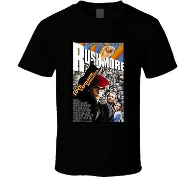 Rushmore Cool 90's Comedy Vintage Classic Movie Poster Fan T Shirt