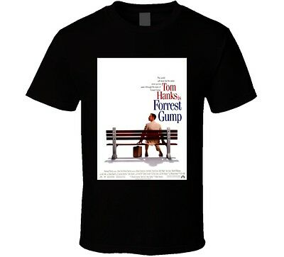 Forrest Gump Cool 90's Comedy Vintage Classic Movie Poster Fan T Shirt