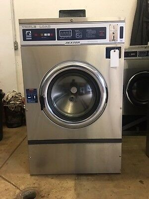 Dexter T400 WCN Commercial Washer Huebsch 220v 1PH Speed Queen Coin-Op Wascomat