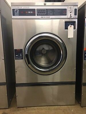 Dexter T300 WCN Commercial Washer Huebsch 120v 1PH Speed Queen Coin-Op Wascomat