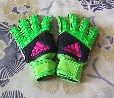 adidas ACE Zones Fingersave Allround Goal Keeper Glove $140.00 Retail Size 9