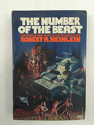 The Number of the Beast by Robert A. Heinlein (1980 First Print, Paperback)