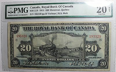 1913 $20 Royal Bank of Canada