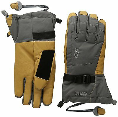 Outdoor Research Mens Revolution Gloves, Charcoal/Natural, X-Large