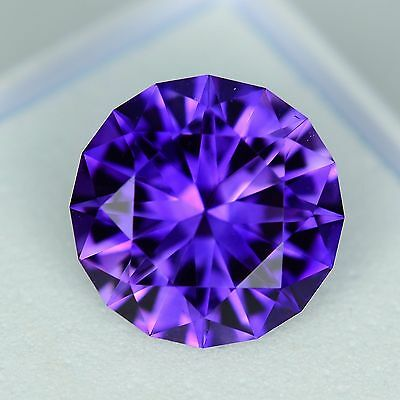 Amethyst - Uruguay - Top Colour - 1.32ct - Round Cut - Natural