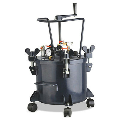 California Air Tools CAT-356B Easy Clean Teflon-Coated 5 Gallon Pressure Pot New