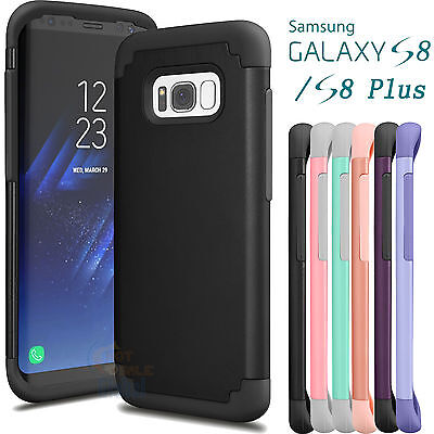 Rugged Impact Shockproof Protective Case Cover For Samsung Galaxy S8 / S8 Plus +