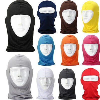 Motorcycle Cycling Ski Neck Protecting Outdoor lycra Balaclava Face Mask Novelty