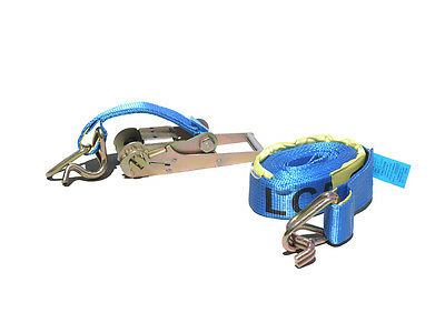 New As4380 Tie Down Ratchet Strap Heavy Duty 25Mm 35Mm 50Mm 75Mm (Nsw)