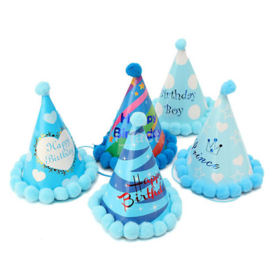 Useful Kids Paper Cone Hats Dress Up Birthday Party Xmas Supplies Decor CA