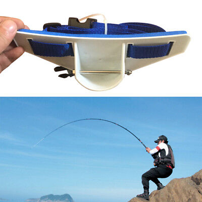 Sea Fishing Adjustable Jigging Fighting Belt Rod Holder Belt Waist Rod Holder 1x