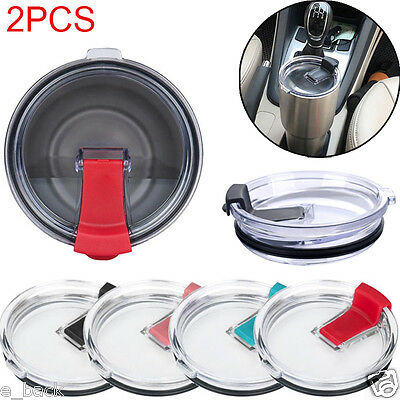 2PCS For 30 Oz Spill And Splash Resistant Lid With Slider Closure Cover Shell