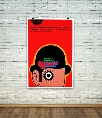 A Clockwork Orange Movie Poster Photo All Sizes : #A7662