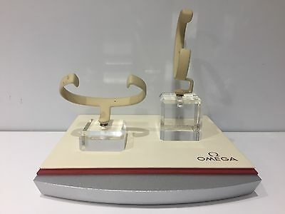 2x Support OMEGA Taco Display Exposant 6,5 cm x 4,5 cm x 4,5 cm - For 2x Watches
