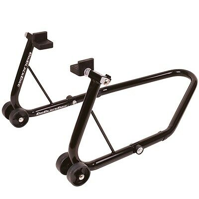 Oxford Big Black Universal Rear Motorcycle Paddock Stand - Ride Recommended
