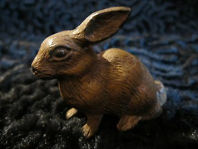 Antique Vintage Cold Painted Spelter Rabbit 1910 1920 Austrian?  Miniature Figur