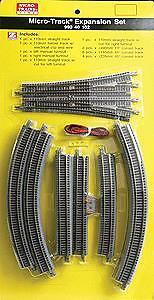 MicroTrains 99040102 Z 20-Piece Micro-Track Expansion Set
