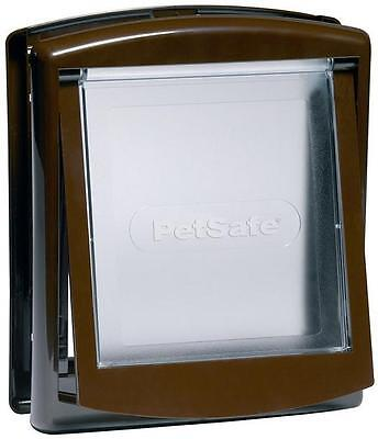 Petsafe Staywell Small Dog Door Or Cat Flap Brown 730 Brand New