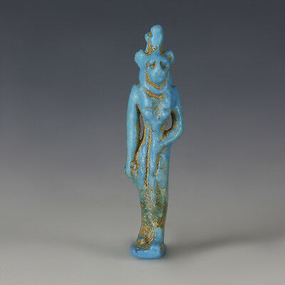 Egyptian Amulet Of A Lion-Headed Goddess
