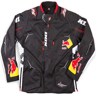 """Brand New Kini Red Bull Motocross Competition Jacket Black Large 44"""" - 46"""" Chest"""