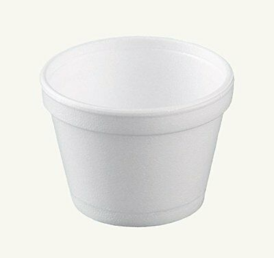Dart 12SJ20, 12-Oz White Foam Food Container with Vented Lid, CASE OF 100