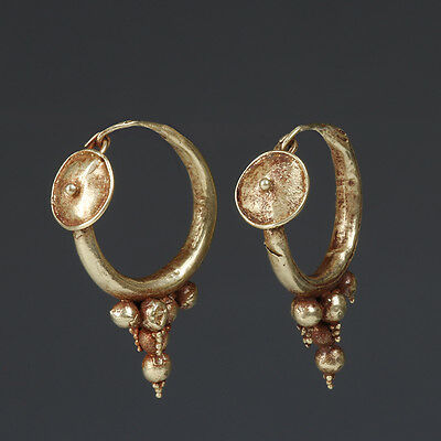 Roman Electrum Earrings