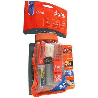 Adventure Medical Kits SOL Scout Survival Kit Hiking Emergency Pack