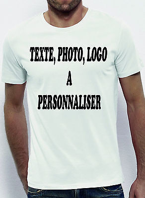 Lot de 30 T-shirts HOMME A PERSONALISER