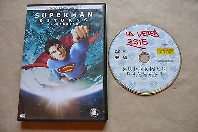 Superman El Regreso Returns        Dvd Pelicula Completa  Film Dvd