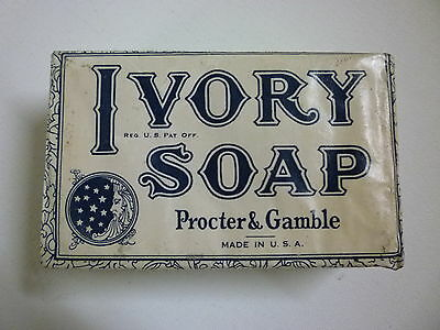 VINTAGE Pre WWII 1940's PROCTER & GAMBLE IVORY SOAP BAR LARGE-Multi Avail.