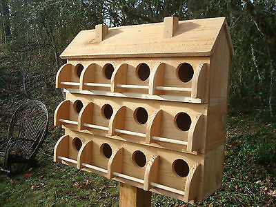 Purple Martin Bird House  12 Compartments Made Of Cedar* Sale ******