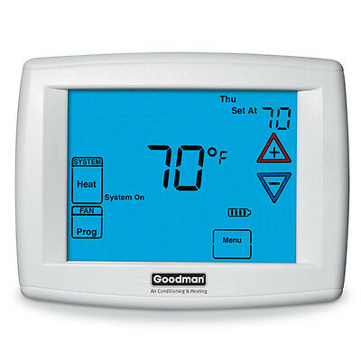 Goodman Emerson White Rodgers  TSTATGTS4275  4 Heat  2 Cool Dual Fuel Thermostat