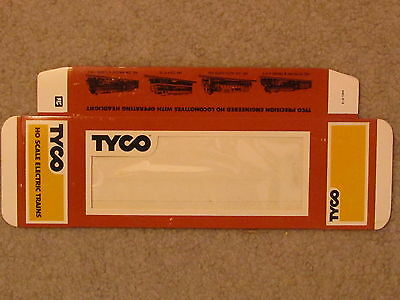 Tyco Train Box, New, Flat, Unfolded, Never. Put Your Treasure In A New Box