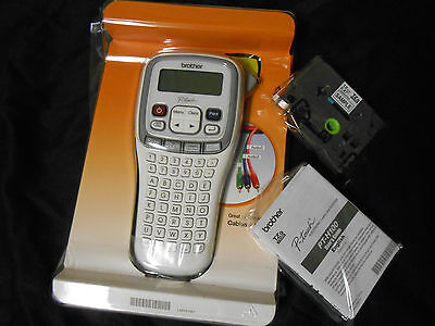 New Brother P-Touch PT-H100 Label Thermal Printer with tape