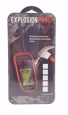 Garmin Alpha 100 GPS Handheld Explosion Proof Screen Protector Temper Glass