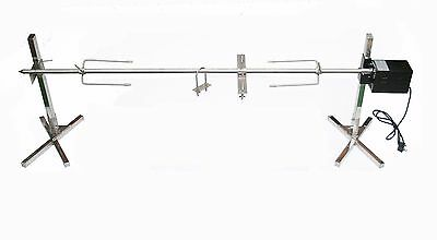 Heavy Duty Tripod Rotisserie Hog Roast Spit Kit - 40W Motor - Up to 40KG