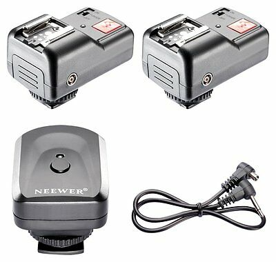 4 Channels Wireless/Radio Flash Trigger Set with 2 Receivers