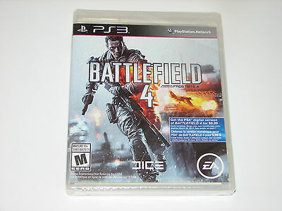 Battlefield 4 Sony PlayStation 3 PS3 Game  ***NEW FACTORY SEALED***