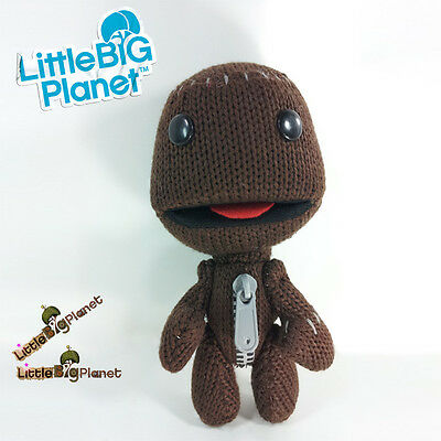 16cm LittleBigPlanet Sackboy Plush SONY PS3 PSP Character Kid Toy Doll #A