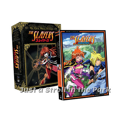 The Slayers: Complete Anime TV Series Seasons 1 2 3 4 5 Box / DVD Set(s) NEW!