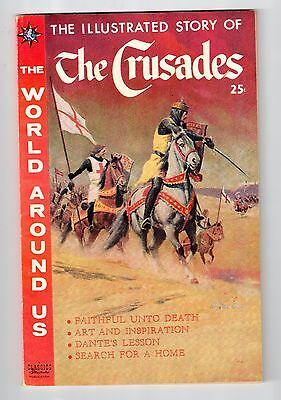 Gilberton The World Around Us #16 ILLUSTRATED STORY OF THE CRUSADES Dec 1959