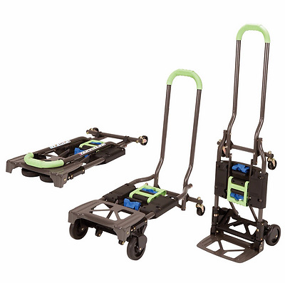 Hand Truck And Dolly Heavy Duty Folding Convertible Lift Multi Position 300 lb