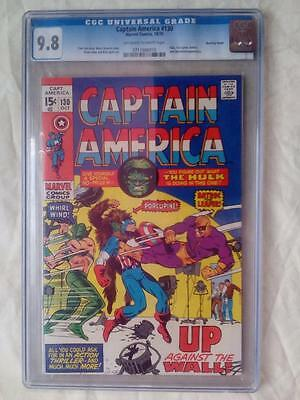 Captain America #130 Cgc 9.8 (Bowling Green Pedigree)