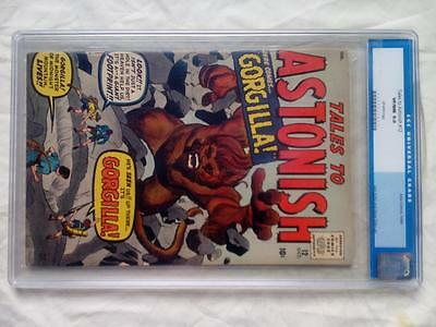 Tales To Astonish #12 Cgc 9.0 Old Label !